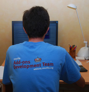 Mon T-shirt Mozilla Addons Development Team